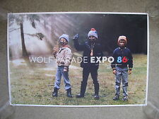 Wolf Parade - Expo 86 - Promo Poster