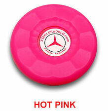 4 LARGE REPLACEMENT AMERICAN SHUFFLEBOARD PUCK CAP TOPS - HOT PINK COLOR