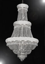 "FRENCH EMPIRE CRYSTAL CHANDELIER LIGHTING 30""x50"""