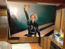 HUGE! 46x32apx KINGPIN vinyl BANNER POSTER movie bill murray bowling.. pba Film