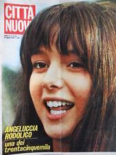 Città Nuova n°15-16 1968 Martin Luther King - Iva Zanicchi - Gigi Riva [D24]