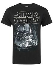 Star Wars a Hope Poster Men's T-shirt Large