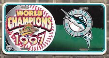 TARGA fans WORLD SERIES CHAMPIONS 1997 FLORIDA MARLINS lega MLB baseball USA