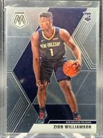 ZION WILLIAMSON #209 RC ROOKIE 2019-20 PANINI MOSAIC