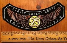 Harley Davidson HOG Patch 2008 Jacket Vest Chevron Emblem Motorcycle Patch