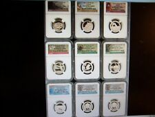 (LOT OF 12) NGC PR 69UC SILVER COINS -SHOW SPECIAL NO STORAGE BOX RANDOM A-7