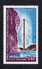 French Southern Antarctica Scott C12, Mint Hinged, Ionospheric Research Pylon
