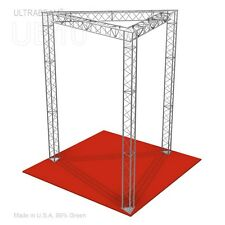 Trade Show Booth, 10' X 10' X 12' Made of Aluminum Triangle Trusses