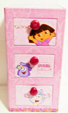 Nick Jr. Dora the Explorer Tin Jewelry Box Keepsake Box