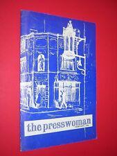 THE PRESSWOMAN. WOMAN'S PRESS CLUB OF LONDON. MAGAZINE. FEB 1966 no.103