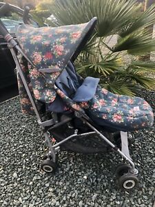 Maclaren Quest Cath Kidston Pushchair in Spray Flowers. Stroller And Cosytoes