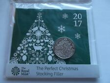 Royal Mint 2017 Christmas Tree B/u £5 Coin Presentation pack     AB