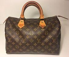 Authentic LOUIS VUITTON Speedy 30 Handbag Bag Monogram Canvas USA Seller