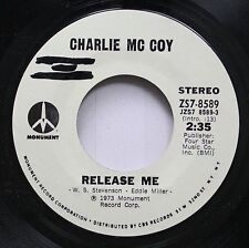 Country Promo Nm! 45 Charlie Mc Coy - Release Me / Release Me On Monument