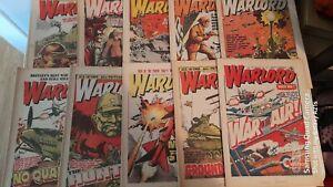 10X 1970s WARLORD COMICS LOT 2
