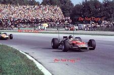 Graham Hill Gold Leaf Team Lotus 49B Italian Grand Prix 1968 Photograph 1