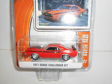 DODGE CHALLENGER R/T 1971 GREENLIGHT 1:64