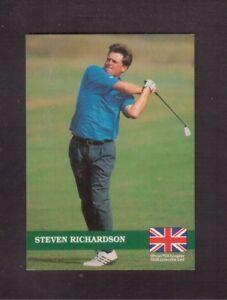 1992 PRO SET PGA EUROPEAN TOUR # E13 STEVEN RICHARDSON !!