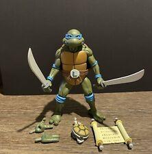 NECA Teenage Mutant Ninja Turtles Leonardo Loose With Accessories