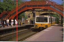South Gosforth Station Newcastle Tyne & Wear Metro 1990s postcard