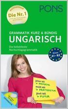 NEU: PONS Grammatik kurz & bündig UNGARISCH lernen mit Online-Übungen