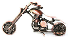 Classic Hand craft HD Motorcycle Metal Art Sculpture Home Decor Figurine#30-1