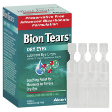 Bion Tears 28 X 0.4ml Vials Moderate to Severe Dry Eye Soothing Relief