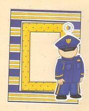 FRAME UPS SCRAPBOOK DIE CUT SET MY MINDS EYE ~ POLICEMAN