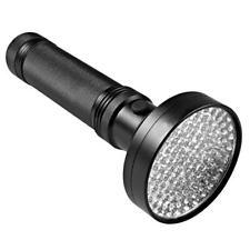 UV Flashlight 100LED Ultraviolet Handheld Flashlight Torch, Pet Urine Detec J8C6