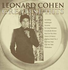LEONARD COHEN - GREATEST HITS: CD ALBUM (2009)