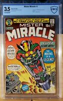 MISTER MIRACLE 1 CBCS 3.5 1ST APP 1971 JACK KIRBY STORY/ART CGC ?
