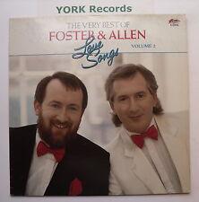 FOSTER & ALLEN - Love Songs -Very Best Of Vol 2 - Ex LP Record Ritz RITZLP 0036