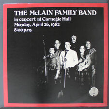 The McLain Family Band in Concert at Carnegie Hall...LP