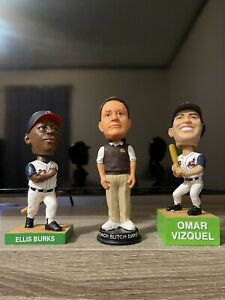 Bobble head Lot Of 3 Cleveland Sports MLB And NFL