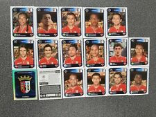 PANINI CHAMPIONS LEAGUE 2010/2011 SC BRAGA COMPLETE SET 17 STICKERS