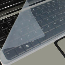 """New Universal Silicone Keyboard Protector Skin For Laptops Notebooks 15""""-17.3"""""""