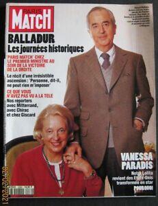 PARIS MATCH N° 2288 1/4/1993 - BALLADUR