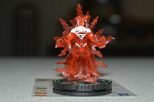 DC Heroclix Superman Wonder Woman 041b Superman Red Rare Prime