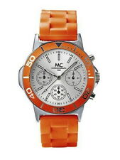 MC - TIMETREND -UNISEX -UHR -CHRONO  mit VD 54 Seiko Uhrwerk - Orange - NEU -OVP