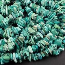 "1//2//5 PCS 36/"" Strand Turquoise Chip Gemstone Gravel Crystal Loose Beads 5-8mm"