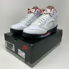 Nike Air Jordan 5 Retro 'Fire Red' Boys GS Size 7Y