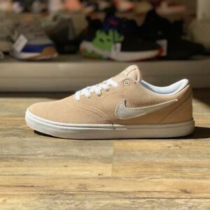 Nike SB Check Solarsoft Gr.42,5 beige BQ3240 200 Sneaker Herren Schuhe Turnschuh