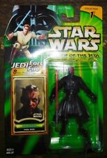 STAR WARS HASBRO 2000 POWER OF THE JEDI . DARTH MAUL . NEUF SOUS BLISTER