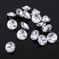 50pcs Crystal Crafts Buttons for Sewing Craft Sofa Upholstery Decor 25mm