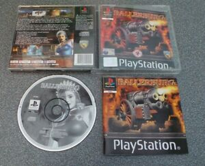 BALLERBURG COMPLETE  PS1 PAL TESTED