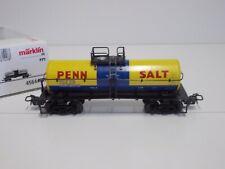 """Märklin HO  45644-07  U.S. Kesselwagen """"Penn Salt"""",neuwertig  in Ovp.(TR210)"""