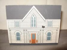 Shelf Sitter Amelia Earhart's Birthplace c1990 Cat's Meow Collectors Club Vgc