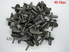 40x Pare-Chocs Clips de Fixation Rivets à Expansion Pour BMW