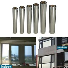 One Way Mirror Reflection Window Tint Film Privacy Protect Heat Reduce Sticker