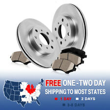 Front OE Brake Rotors and Ceramic Pads 1988 1989 1990 1991 1992 TOYOTA COROLLA